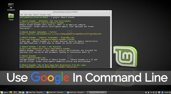 Short Bytes: Googler allows you to use Google search in the Linux command line. This Linux command line utility can be used as a standalone tool or in combination with a text-based web browser. Developed using Python, Googler can be found on its developer's GitHub repository. Images from FossBytes